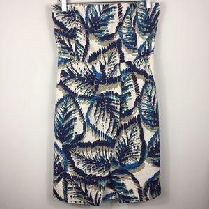 Banana Republic strapless lined dress